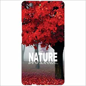 Gionee Marathon M5 Back Cover - Nature Of Love Designer Cases