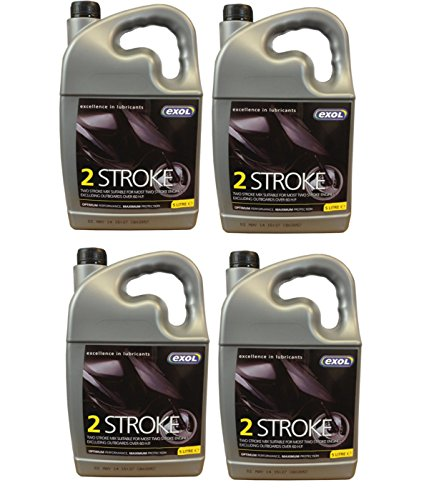 pack-of-4-5ltr-exol-two-stroke-oil-2-stroke-for-scooters-chainsaws-motorcycles