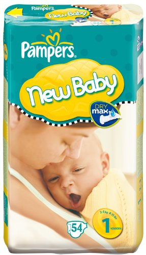 PAMPERS - 81272710 - Couches New Baby Taille