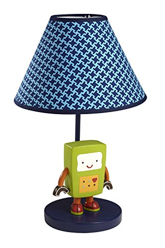 NoJo Baby Bots Lamp and Shade - 1