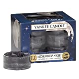 Yankee Candle 12-Piece Tea Light Candles, Midsummer Night