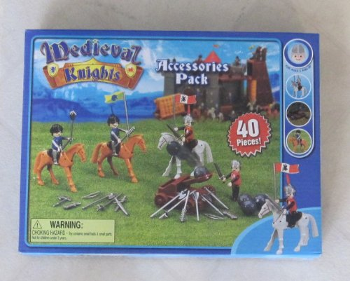 Medieval Knights 40 Piece Accessories Pack