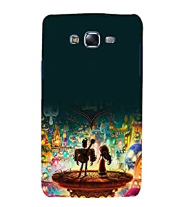 printtech The Book Of Life Cartoon Back Case Cover for Samsung Galaxy A7 / Samsung Galaxy A7 A700F