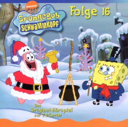 spongebob schwammkopf cd 16 weihnachten unter wasser. Black Bedroom Furniture Sets. Home Design Ideas