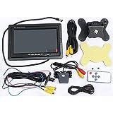 LotFancy 7 Inch TFT LCD Digital Monitor + Car Rear View Video Backup Camera Night Vision