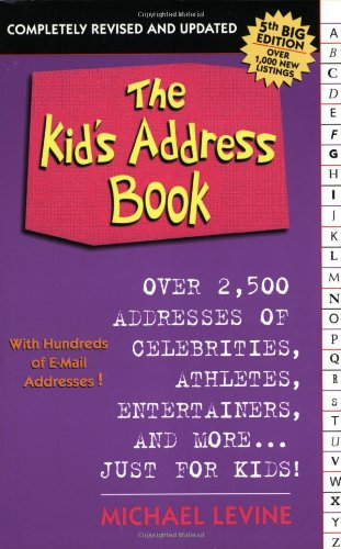 The Kid'S Address Book 5Th Edition (Revised)