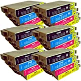 24 CiberDirect Compatible Ink Cartridges for use with Epson Stylus C64 Printers.