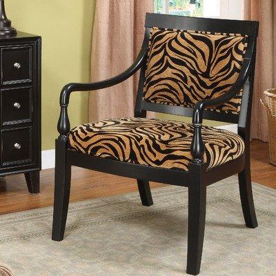 Delicieux Coast To Coast Tiger Print Chair Frame, Zebra/Black