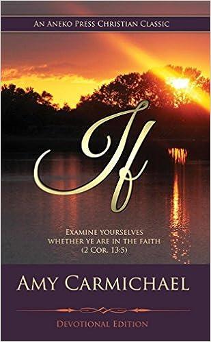 If (Carmichael): Devotional Edition