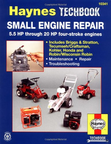 Small Engine Repair: 5.5 Hp Thru 20 Hp Four Stroke Engines (Haynes Techbook) front-396208