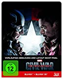 The first Avenger - Civil War  3D: 3D+2D [3D Blu-ray]