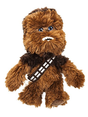 Star Wars 1400608 - Chewbacca Peluche in Unique Velboa, 17 cm
