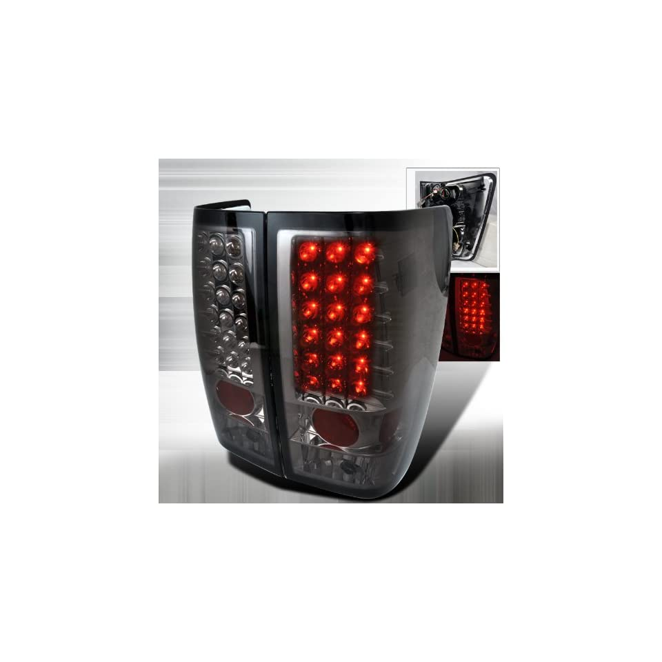2004 2008 Nissan Titan Led Tail Lights Smoke Automotive