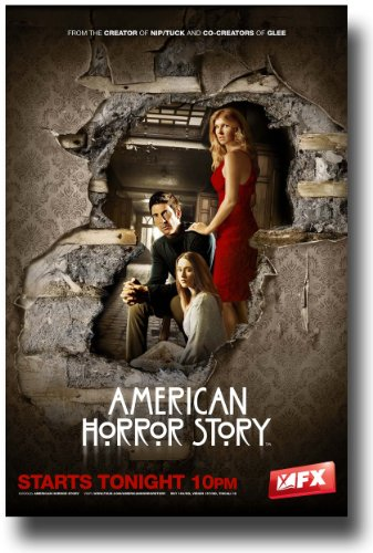 American Horror Story Poster - 2011 TV Show Promo Flyer - 11 X 17 - Wall Hole