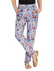 The Vanca Women's Slim Jeans (TRF350145-Indigo-L )