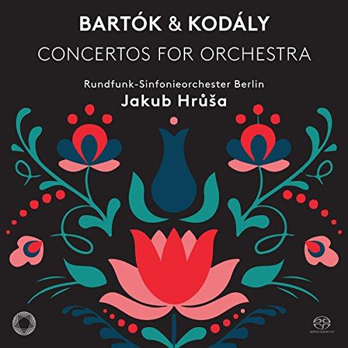 SACD : Jakub Hrusa - Concertos For Orchestra (Hybrid SACD)