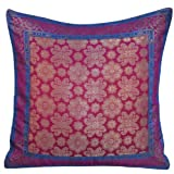 Pillow Covers Silk Indian Home Decor Pillowcases 16 X 16 Inches
