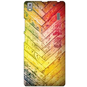 Lenovo A7000 PA030023IN Back cover - Bricked Lines Designer cases
