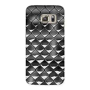 Impressive Cage Snow Back Case Cover for Samsung Galaxy S6 Edge