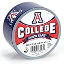Duck Brand 240259 University of Arizona College Logo Duct Tape, 1.88-Inch by 10 Yards, Single Roll