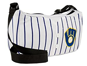 Milwaukee Brewers Jersey Purse 12 x 3 x 7 by Little Earth