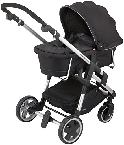 Kiddy Click 'n Move 3 Carrycot - Racing Black