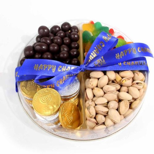 Happy Hanukkah Chocolate Coins, Nuts & Candy