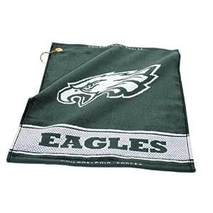NFL Philadelphia Eagles Woven Golf Towel
