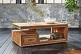 Shan Storage 6325K Shina Wood Coffee Table, 120x 70x 45cm, width 120cm