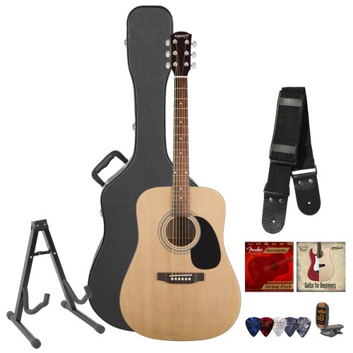 Fender Musical Instruments Acoustic Guitar Pack