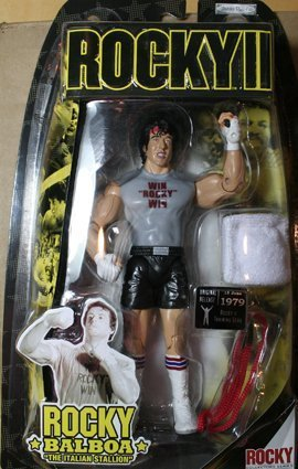 Buy Low Price Jakks Pacific Rocky II: The Authentic Collection Action Figure Rocky Balboa (B0013RMYO4)