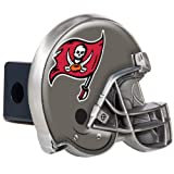 Great American Tampa Bay Buccaneers Metal Helmet Trailer Hitch Cover