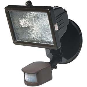 globe electric 79108 150w 1 light halogen outdoor halogen. Black Bedroom Furniture Sets. Home Design Ideas
