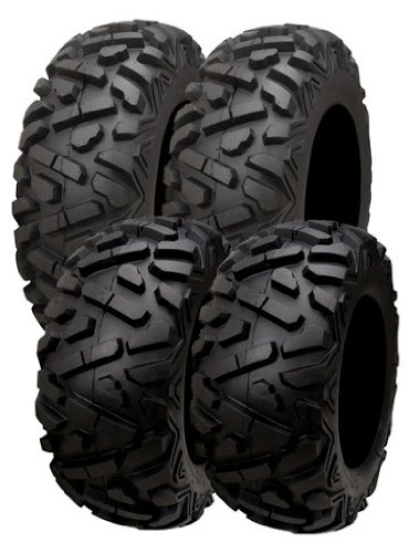 ATV Tire Set of 4 Front and Rear 25