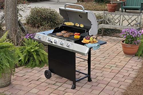 grills gas grill burner bbq classic stainless steel
