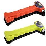 SIDCO® Notfallhammer Nothammer Gurtschneider Gurtmesser Hammer Rettungshammer