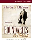 Boundaries in Dating Leader's Guide (0310238749) by Cloud, Henry
