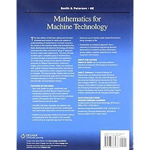 Mathematics for Machine Technology (Applied Mathematics)