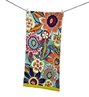 Colourfield Floral Beach Towel