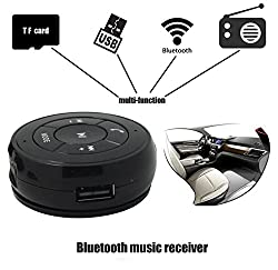 Evana PT-750 Wireless Bluetooth Hands Free Phone Music Audio Receiver Call Support TF Card U disk USB-Flash Function and FM