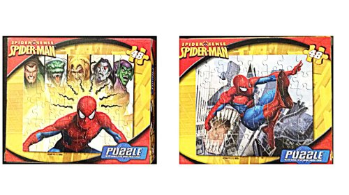 Spiderman Spider Sense 48 Piece. Puzzle (Style May Vary)