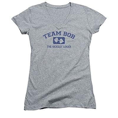 The Biggest Loser Team Bob Athletic Ladies Junior Fit V-Neck T-Shirt