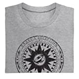 Official Uncharted 3: Drake's Deception Organic T Shirt - Compass, Mens