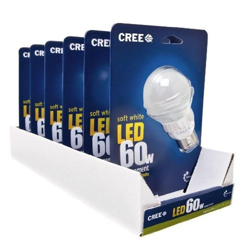 Cree 9.5-Watt (60W) Soft/Warm White (2700K) LED Light Bulb *6-Pack*