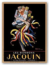 "Jacquin, 1930 by Leonetto Cappiello 31.5""x23.5"" Art Print Poster"