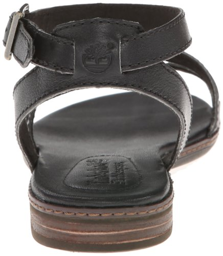 Timberland Women's Darien Woven Fisherman Sandal,Black,6.5 M US