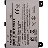 Replacement Kindle 2 Battery Portable Reader Battery