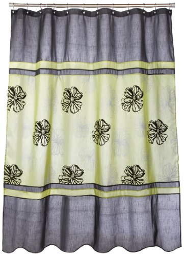 Popular Bath Tonya Shower Curtain Sage