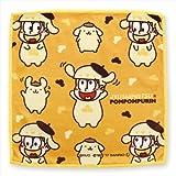 おそ松さん×サンリオキャラクターズ 十四松×ポムポムプリン ミニタオル