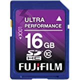 Fujifilm 16 GB SDHC Class 10 Flash Memory Card